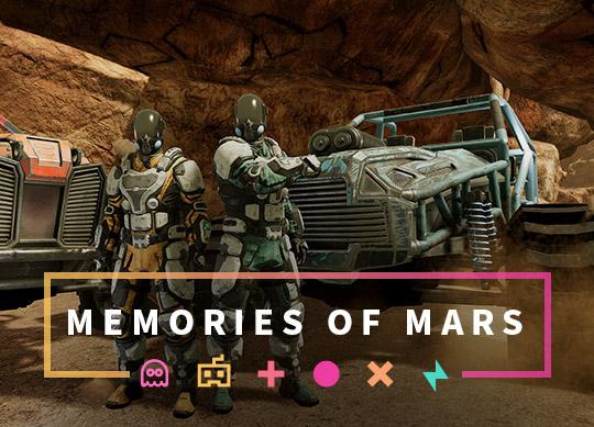 Memories of Mars Servidores para PC, XBOX e PS4!