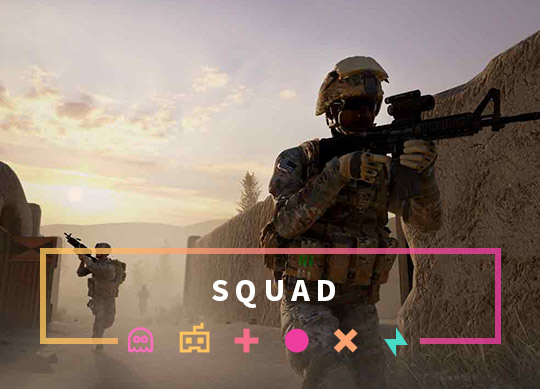 Squad Server now available!