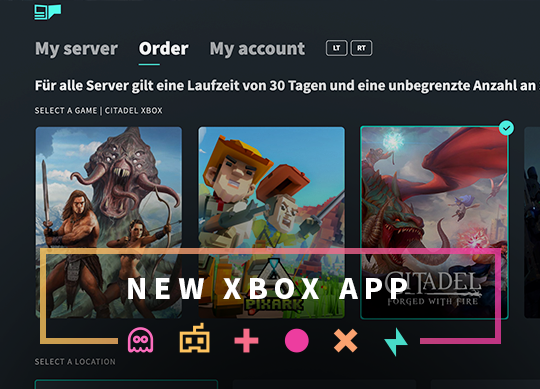 The new GPORTAL Xbox App is here!