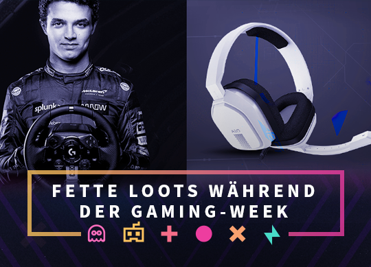 Gaming Week - 25% Rabatt und tolle Preise