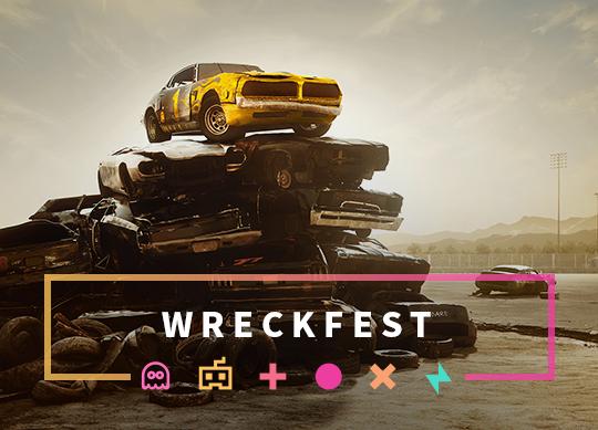 Wreckfest - Der ultimative Autospielplatz