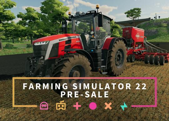 Landwirtschafts-Simulator 22 Server-Vorverkauf