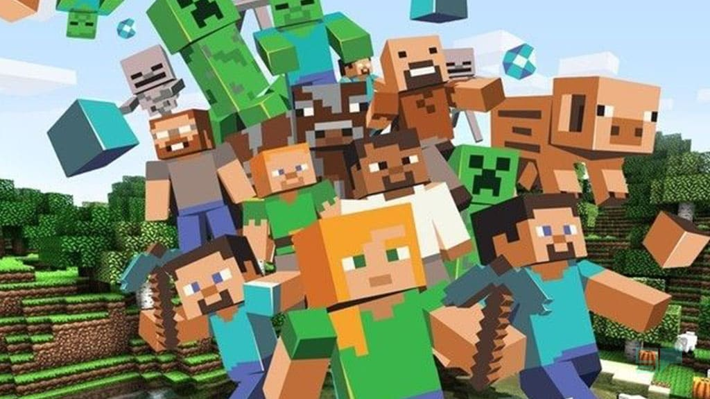 minecraft is popular