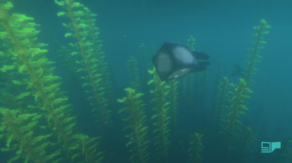 minecraft underwater squid