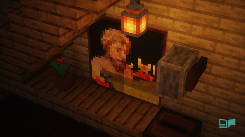 paintings in minecraft