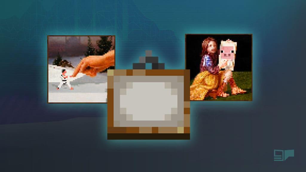 Minecraft Paintings