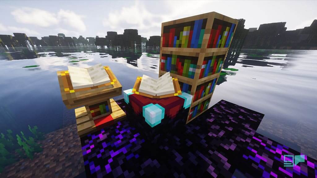 Minecraft enchanting table